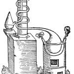 Grappaioli e itinerari di terra vicentina - Un disegno dell'alambicco