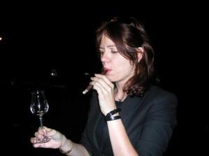 grappa e sigaro