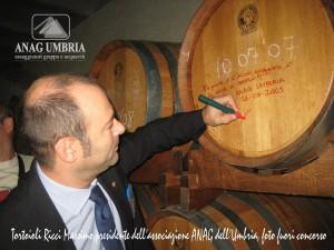 Massimo Tortoioli Ricci, presidente Anag Umbria - foto fuori concorso